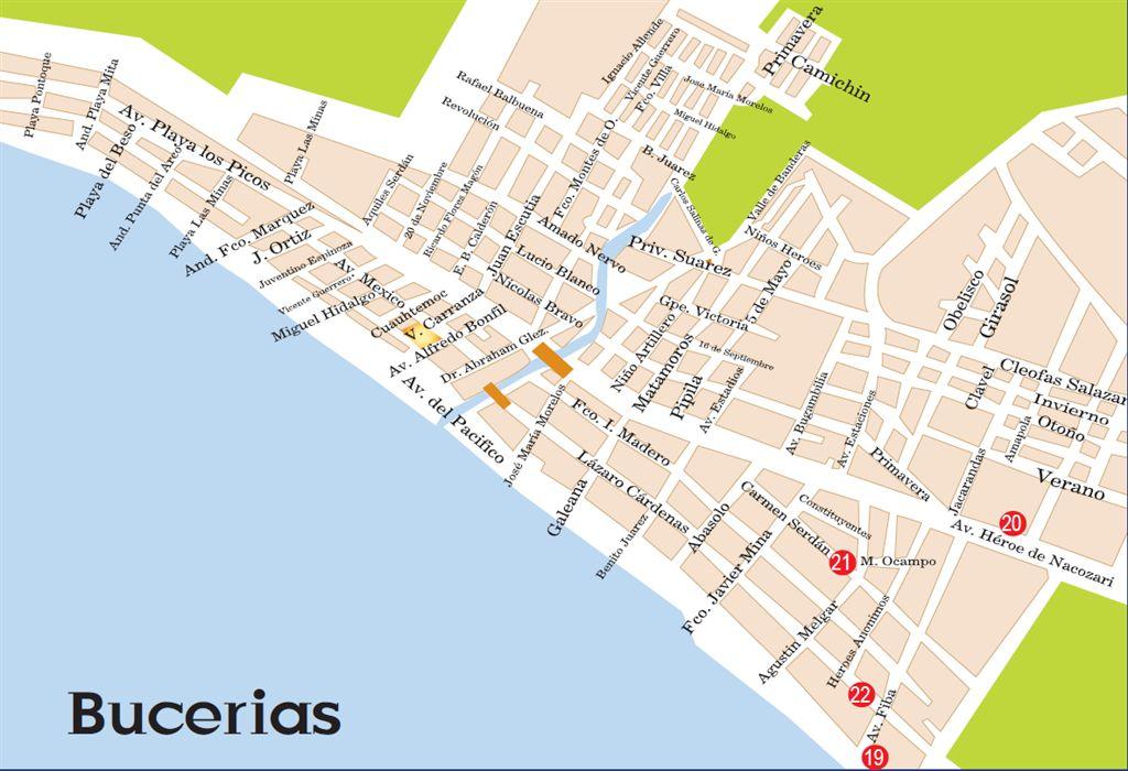Best Of Nuevo Vallarta Maps