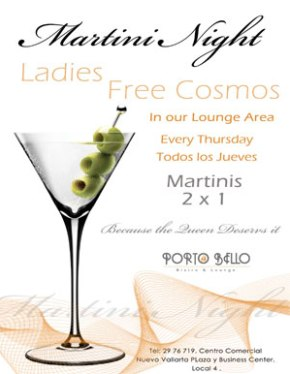 Martini_Night_Thursday_Puerto_Bello
